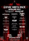 FLYER Gothic Meets Rock Open Air